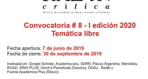 Revista Razón Crítica Call for Papers